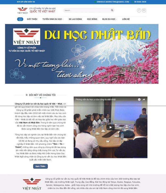 thiet ke website cong ty du hoc nhat 687x800 - Thiết Kế Website
