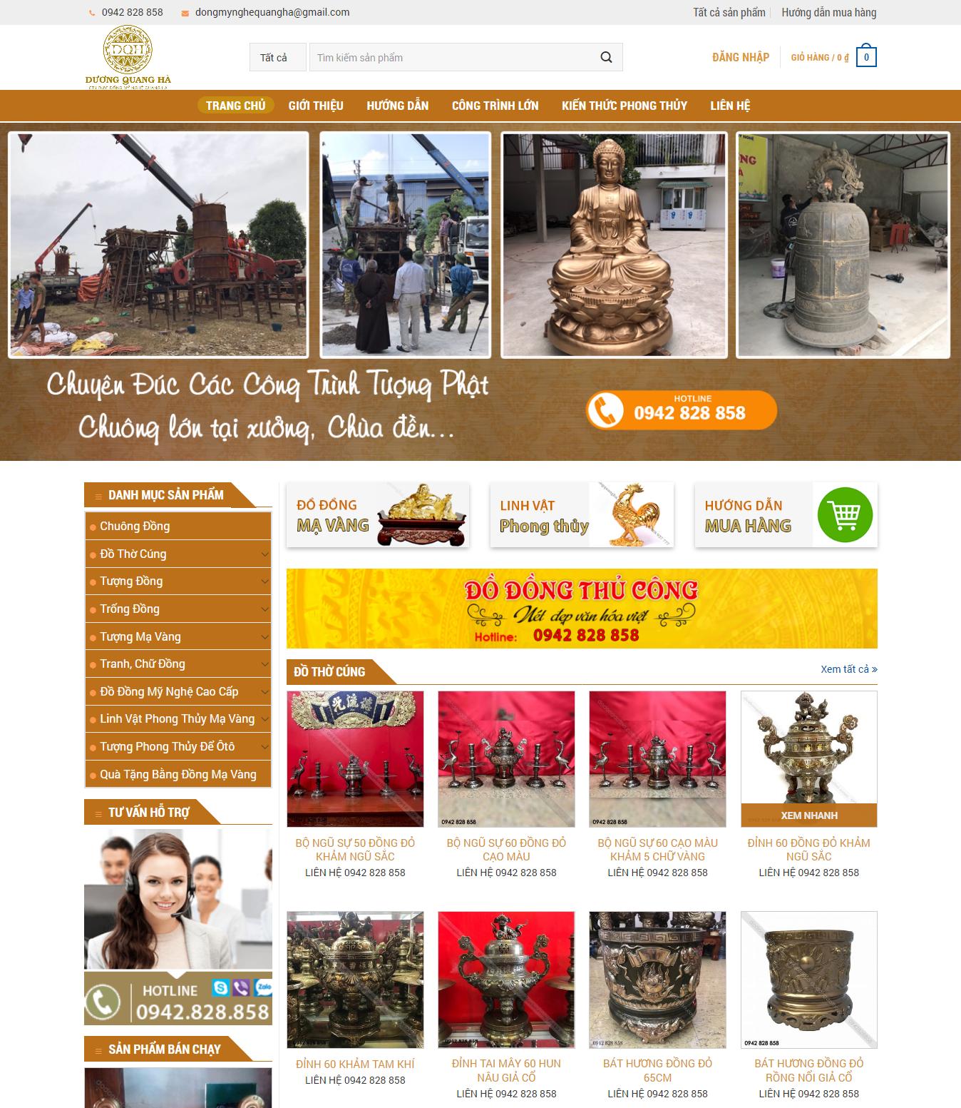 ducdongquangha - Thiết Kế Website