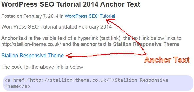Đặt anchortext sao cho hiệu quả?