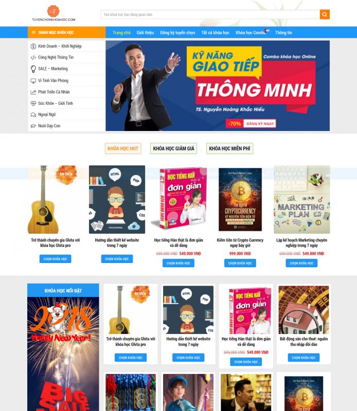 tuyen chon khoa hoc 694x800 - Thiết Kế Website