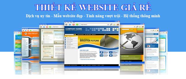 thiến kế website hải dương
