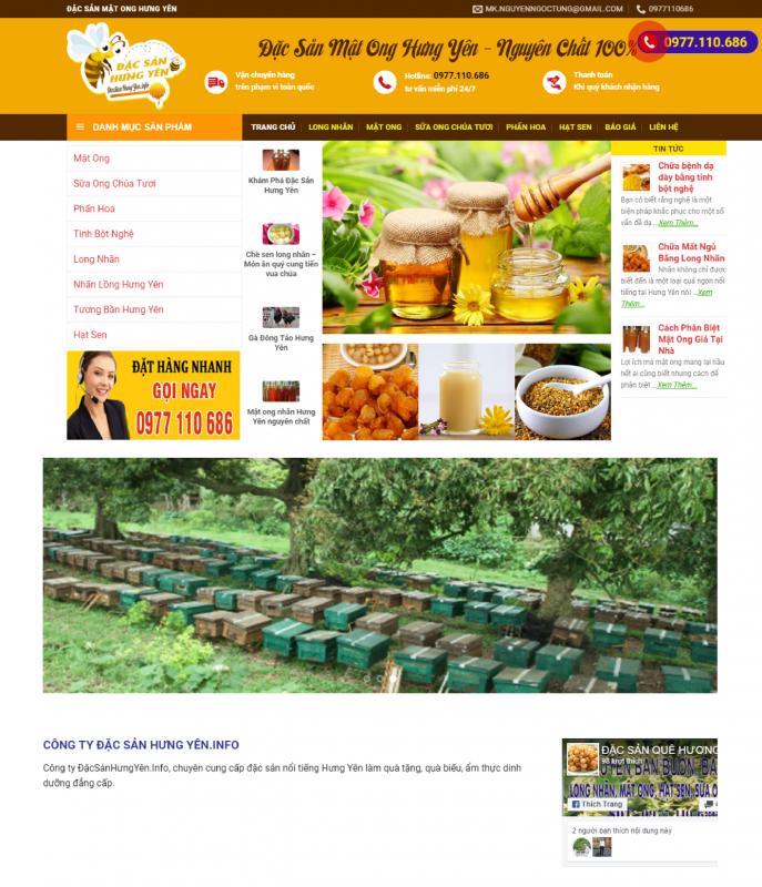 dac san hung yen 687x800 - Thiết Kế Website