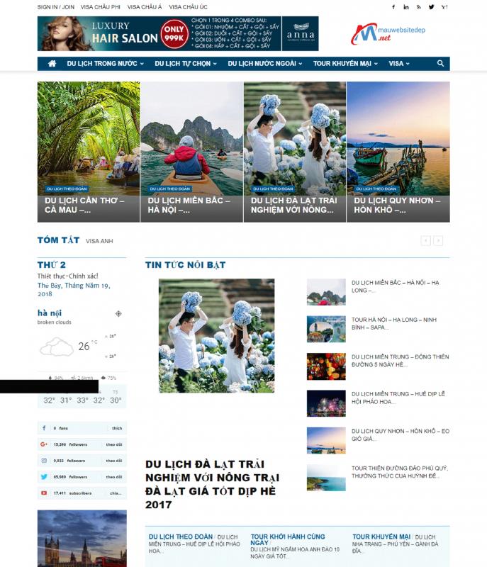 du lich 1 687x800 - Thiết Kế Website