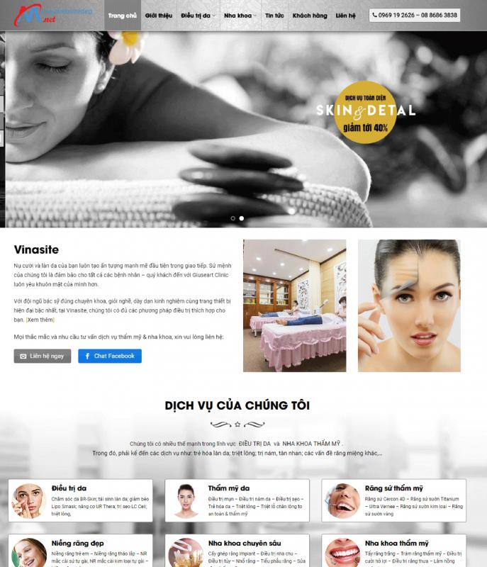 spa 1 687x800 - Thiết Kế Website