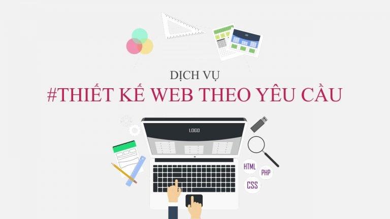 thiet ke web theo yeu cau gia re tron goi 768x432 - Dịch vụ thiết kế web theo yêu cầu giá rẻ