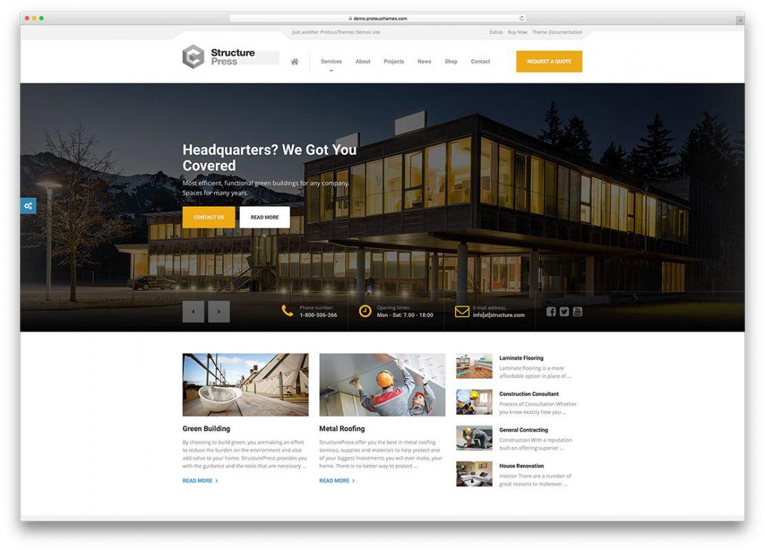 thiet ke website cho cong ty xay dung chuyen nghiep 1 1111x800 - Dịch vụ thiết kế website công ty xây dựng chất lượng, uy tín