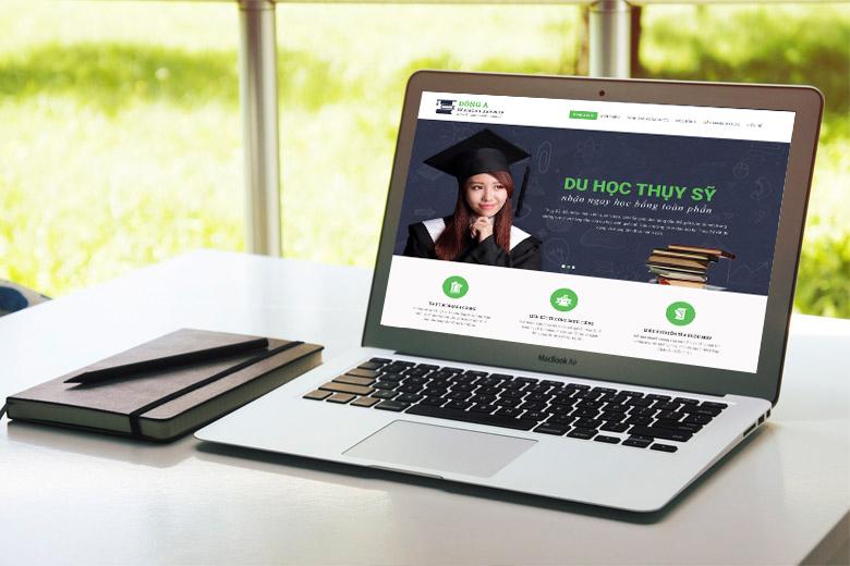 thiet ke website du hoc - Thiết kế website du học chất lượng chuyên nghiệp tại Vinasite