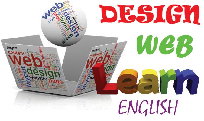 Thiết kế website học tiếng anh