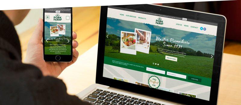 Website thực phẩm