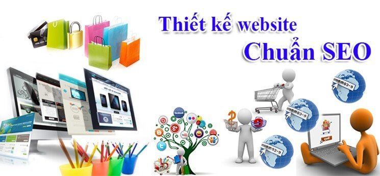 Thiết kế website tp vinh chuẩn seo