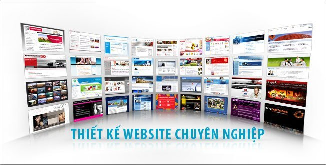 Thiet ke website - Thiết kế website