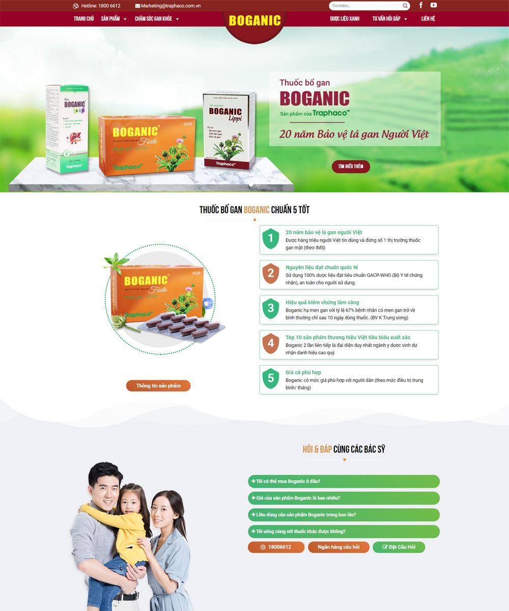 thiet ke website thuoc - Thiết Kế Website