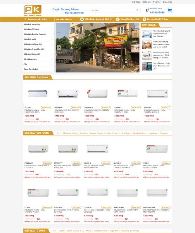 sieu thi dien may 667x800 - Thiết Kế Website
