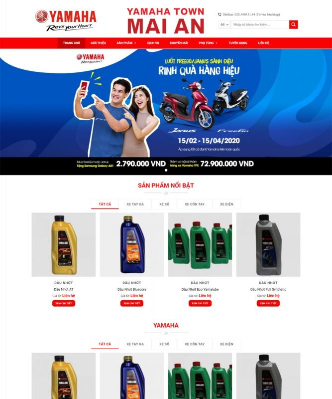 web ban xe may 667x800 - Thiết Kế Website
